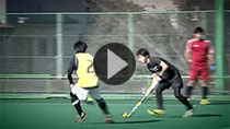 Competitive Field Hockey Environment (Link to YouTube)