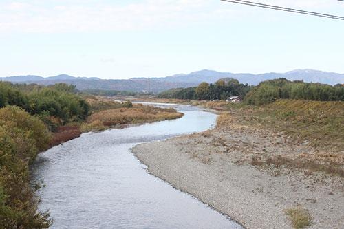 安曇川の河口/詳細:こころに残る滋賀の風景